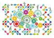 Teamarbeit Symbol, Netzwerk