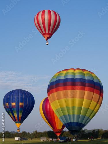 Deurstickers Luchtsport Montgolfiere #159