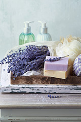Natural Herbal Soaps , Bath Products and Dried Lavender