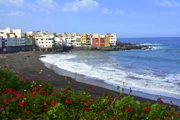 Playa de Playa Jardín. Puerto de la Cruz. Tenerife