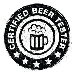 Certified beer tester