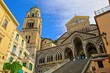 canvas print picture - Amalfi Dom - Amalfi cathedral 01