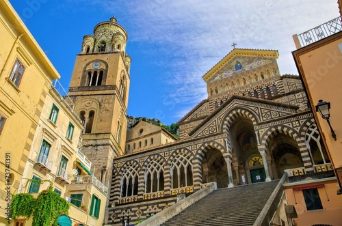 canvas print picture Amalfi Dom - Amalfi cathedral 01