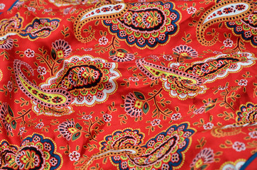 Background of the Paisley shawl