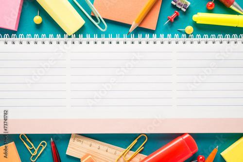 School office supplies - 73741782