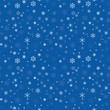 seamless texture with snowflakes - 73741996