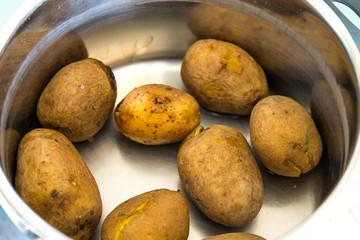 gekochte Kartoffeln