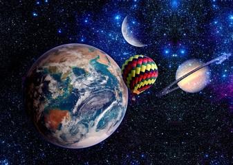 Fantasy Space Earth Balloon