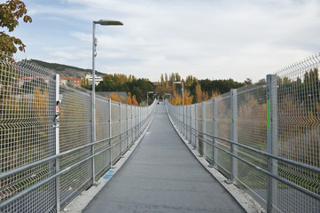 Footbridge in Cuenca