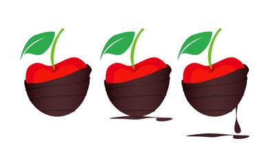 Chocolate-dipped Cherries