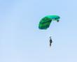 man athlete skydiver flying - 73743165