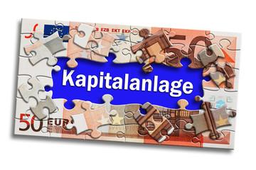 Geldschein - Kapitalanlage