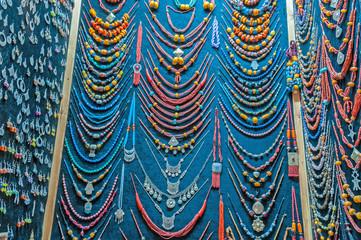 Jewelry and souvenir shop in Essaouira, Morocco