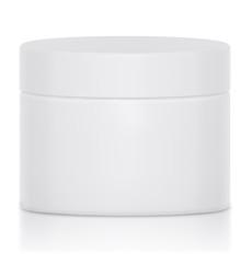 Mock UP Cream jar blank a logo