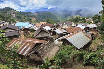 remote village in north laos