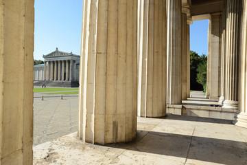 Säulen am Königsplatz in München