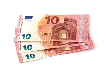 3 10 Euro-Scheine