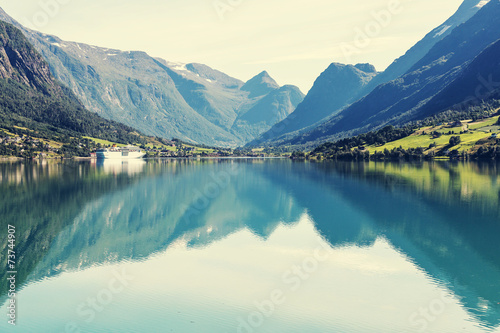 Lake in Norway - 73744907