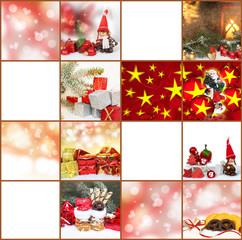 Geschenkanhänger, Weihnachtskärtchen