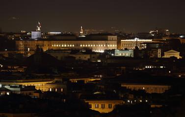 Quirinale at Night, Rome