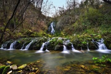 Cascate del rio Boncic (Italia)