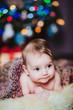 canvas print picture - baby weihnachten