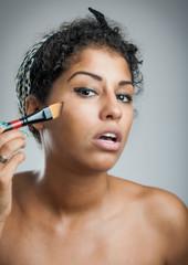 Beauty makeup woman