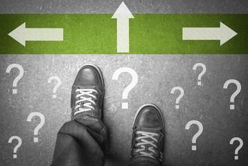 Welchen Weg wählen???