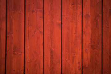 Red Wooden background  - Stock Photography