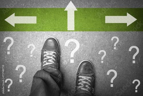 Welchen Weg wählen??? Poster