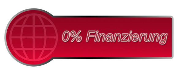 Aktions-Button / 0% Finanzierung