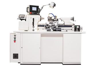 Grey metalworking  lathe machine