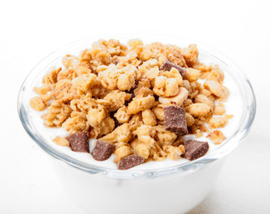 Yogurt e cereali