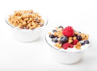 Yogurt frutti di bosco e cereali