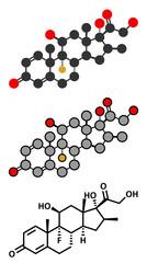 Betamethasone anti-inflammatory and immunosuppressive steroid