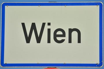 Ortstafel Wien