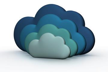 3D Render of Clouds