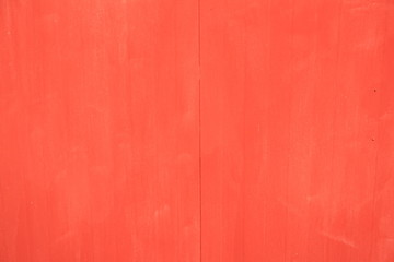 Background painted red
