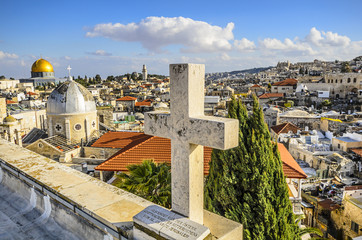 Jerusalem, Israel Old City Cityscape