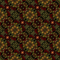 Tile with fine dark patterns muted colors