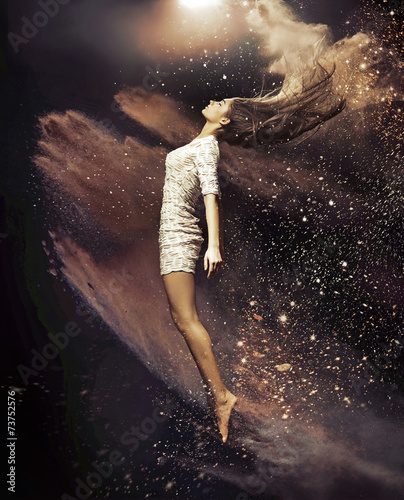 Fotobehang Dans Art photo of the ballet dancer