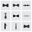Vector bow ties icon set - 73753193