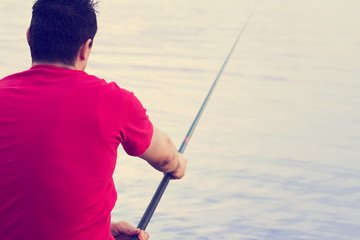 Fisherman vs pike.
