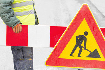 Construction works - closed street!