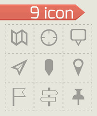 Vector check marks icons set