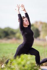 outdoor yoga