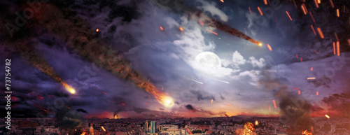 Fantasty picture of the apocalypse - 73754782