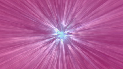 Pink light beams motion background.