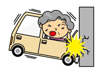 SDシニア女性 交通事故