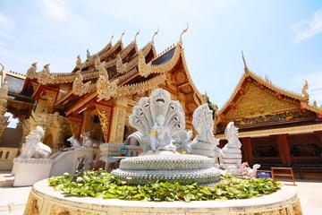Sanpa Yang Luang temple, Lamphun Thailand